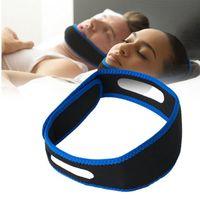 حار بيع النيوبرين مكافحة الشخير حزام الذقن وقف الشخير حزام مكافحة توقف التنفس أثناء النوم جهاز النوم الحل