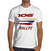 Peugeot 106 Rallye Racinger Soft Cotton T- Shirt Rally WRC Gt...