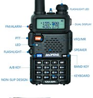 New Baofeng Walkie Talkie UV- 5R Dual Band Radio Station Two-...