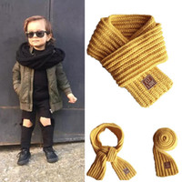 Kids Scarf Autumn Winter Knitted Warm Thick Scarves Neck War...