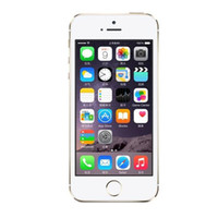 "Refurbished iPhone 5S Unlocked Cell Phones iOS 8 4. 0"" I..."