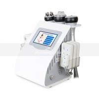 العناية 6in1 40K التجويف بالموجات فوق الصوتية التخسيس RF ديود ليزر يبو العلاج بالليزر لتخفيف الوزن الجلد آلة الجمال