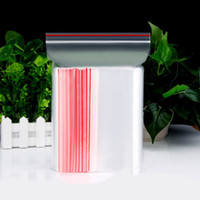 0. 05mm Transparent Food Self- Sealing Bag Seal Plastic Pouch ...
