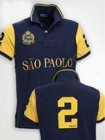 ¡Envío gratis! Camisa polo en color liso Hombres Ciudad de lujo Camisas polo Camisa polo de manga corta para hombre talla M-XXL, envío de la gota