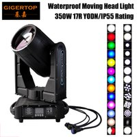 Gigertop esterna DMX Spot del fascio 350W 17R Moving Head illuminazione Coperture antipioggia IP55 impermeabile Moving Head Light 110V-220V Pioggia Work