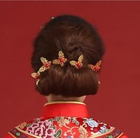 Braut Zubehör Großhandel Kopfschmuck Perle Haarnadel Schmetterling Hochzeit Kleid Zubehör, Fotostudio, Geschirr Haarschmuck Retro
