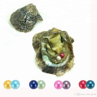 Round Oyster Pearl Twins Individual package 6- 7mm saltwater ...
