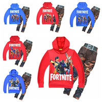 10 Colors 2pcs set Baby Fortnite Printed Outfits Autumn Chil...