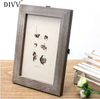 Home Wider DIVV Vintage Photo Frame Home Decor Matrimonio in legno Casamento Pictures Frames sep923 Trasporto di goccia