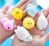 Squishy Slow Rising Jumbo Toy Squishiy Fashion Rare Animal Gifts Charms Bun Toys Animales Cute Kawaii Squeeze Cartoon Toy Mini Descompresión