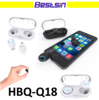 TWS twins Bluetooth Earphone with Charging Box HBQ- Q18 High ...