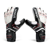Size 7- 10 Professional Soocer Goalkeeper Gloves Black Goalie...