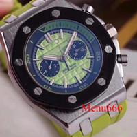 be10ed4a719 2018 luxo relógio especial homens aaa preto mostrador de borracha faixa de  cor preta de couro
