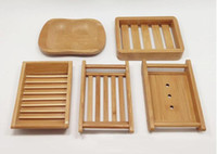 Creative Bathroom Handmade Draining Wooden Simple Bamboo Soa...