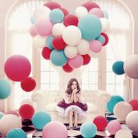 36 дюймов латексные шары круглый огромный белый розовый шар birhtday украшения свадьба питания Джамбо гелия баллоны