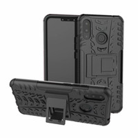 Huawei Nova 3i Için 6.3 inç Sıcak Satış Sağlam Hibrit Zırh Ağır Hibrid TPU Darbe Darbe Kılıf Sert Şok Proof Kapak Standı