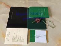 Novo Unisex Assista Calendário Papers Cartão Carteiras Casuais Manual de Tradução 226659 Certificação 126603 Papers 126711 Livreto mens 116610 Watch