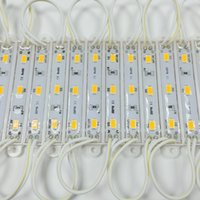 20pcs 5630 5730 3 وحدة الإضاءة LED للتوقيع DC12V ماء السوبر مشرق بقيادة مصلحة الارصاد الجوية وحدات كول الأبيض شحن مجاني
