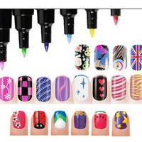 Manicure 3D Nail Polish Art Pen For DIY Decoration UV Nail a...