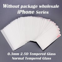 0. 3mm 2. 5D Normal Tempered Glass Screen Protector For iphone...