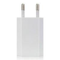 شاحن الهاتف USB Travel Moblie Phone EU Plug 5V 1A Wall Power Adapter for iPhone for iPad for Sumsung Xiaomi Huawei