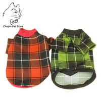 NEW Spring Dog Clothes Shirts Plaid Jackets Puppy For Small ...
