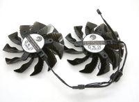 Nouveau original pour GIGABYTE GTX960 DC12V PLA09215S12H carte graphique suivante: 0,55 ventilateur de refroidissement