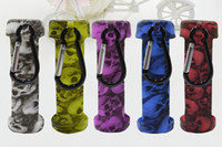 Skuller Head E, piel de silicona, funda de transporte, funda de goma, caja de bolsa, cubierta de goma para 60ml, gordita, líquido y líquido, botellas de Vape