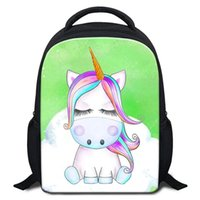 Animal Cartoon Unicorn Sacchetto di scuola per bambini 0-5 anni Piccoli Bookbags Bambini Mini Bagpack Bambino Outdoor Travel Shoulder Bag Zaino Pack