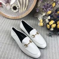 Hot 2018 nuove scarpe in pelle, scarpe da donna primavera ed estate, pelle alta, pelle grande, 5 colori, scarpe casual da donna, taglia 35-41.