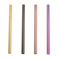 Pailles à boire en acier inoxydable de calibre 8,5 po diamètres 6 mm / 8 mm / 10 mm / 12 mm