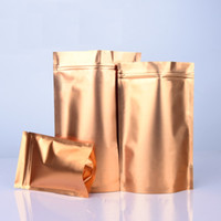 Stand Up Gold Aluminum Foil Bag For Dried Food Snack Powder ...