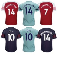 Premier League Jersey 2018 2019 Adult Thai Quality WILSHERE ALEXIS GIBBS WALCOTT CHAMBERS camiseta de fútbol 18 19 camisetas de fútbol camisetas