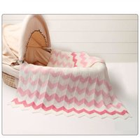 Autumn Knitted Infant Baby Basket Blanket Summer Air Conditi...