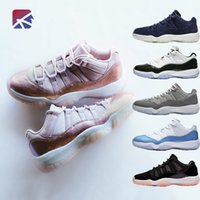 buy popular 3fca9 a2f47 2019 Chaussures de basket-ball Prom Night 11 11s Concord Gym rouge Midnight  Navy Race