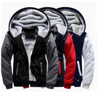 USA EU size Men Women Jacket Thicken Hoodie Coat Winter Flee...