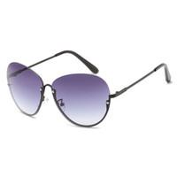 0e1532845c 2018 New Arrival Fashion Sunglasses for women half frame metal oversized  Eyeglasses female party travel outdoor Vintage Sun Glasses
