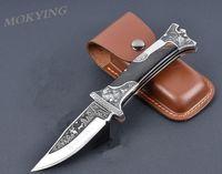 HOT Sharp Handmade Tactical klappmesser 440c klinge ebenholz griff outdoor survival jagdmesser schwimmende skulptur taschenmesser
