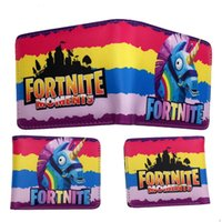 Fortnite 3D PU Wallet The Fortress Night Cartoon Game Coin P...