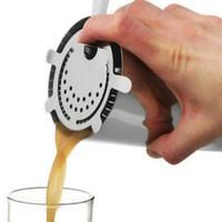 Stainless Sprung Bar Stahl Sieb Cocktail Shaker Kaffee Eis Filter Tee Sieb Rest Saft Sieb Filter Bars Werkzeug