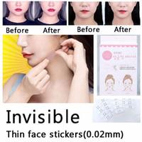40 Pz / set Trucco Beauty V-Shape Face Lift Up Fast Chin Nastro adesivo Trucco Lifting Strumenti in tessuto gommato