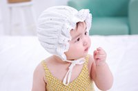 Fashion cute Infant Baby Caps Lace Princess Cap Girl Spring ...