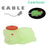 Световой кабель линия укус для Iphone кабель шнур животных P аксессуар r моталки протектор кабель для iphone