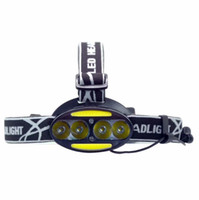 IR sensor usb charge led headlamp headlight led 4 cree xml t...