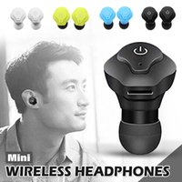 Mini TWS Twins Wireless Bluetooth Stereo Headset V4. 2 + CSR ...
