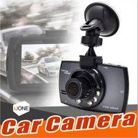 """G30 Câmera Do Carro 2.4 """"Full HD 1080 P Carro DVR Gravador de Vídeo Traço Cam 120 Graus de Largura Ângulo de Detecção de Movimento de Visão Noturna G-Sensor Com pacote"""