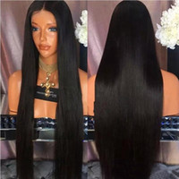 7A Brazilian Virgin Hair Full Lace Wig & Lace Front Wig Silk...