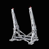 MOC Millennium Vertikaler Spielzeugständer Kompatibel mit Kunststoffpartikeln des ultimativen Sammlermodells Nr. 05132