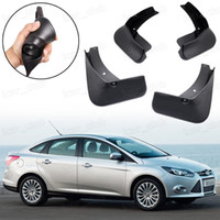 Nuevo 4x guardabarros guardabarros Guardabarros Guardabarros Fender adecuado para Ford Focus Sedan 2011 2017