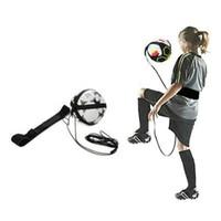 Hands-Free футбол Футбол жонглирование удар / бросок тренер новый мяч заблокирован чистый дизайн регулируемый пояс шнур для обучения молодежи